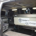 Inside the OME Mobile Air Monitoring Unit Van