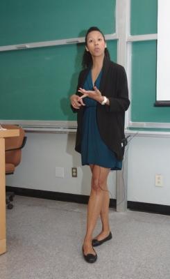 Symposium Day presenter - Amanda Jameer