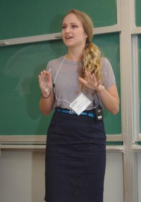 Symposium Day presenter - Nadya Moisseeva