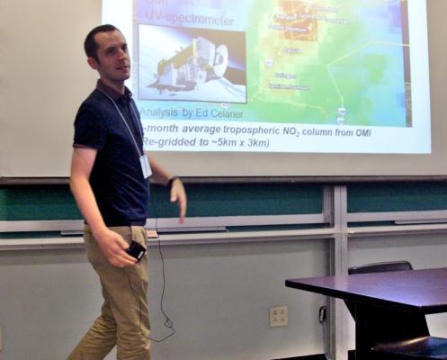 Symposium Day presenter - Jeffery Geddes