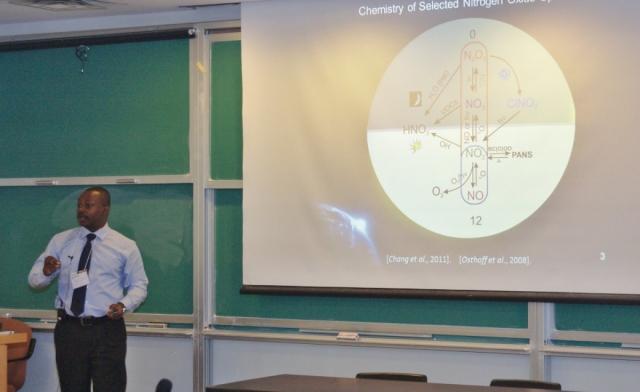 Symposium Day presenter - Charles Odame-Ankrah